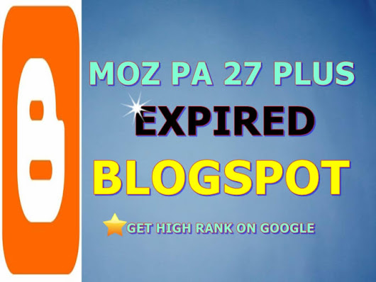 erwinaga09 : I will provide 35 expired or dead blogspot pa 27 plus for $5 on www.fiverr.com