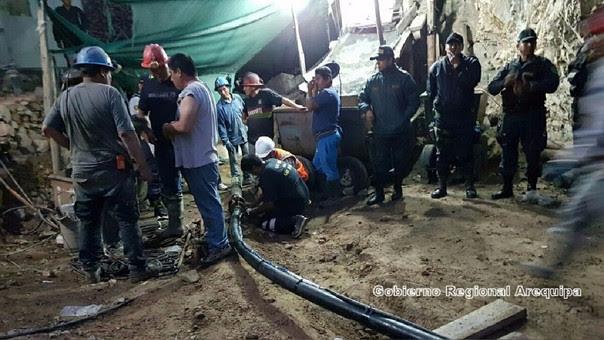 Mineros rescate