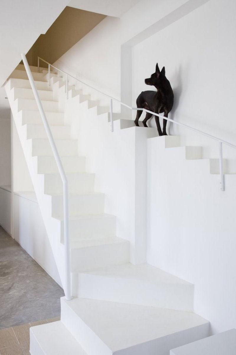 Escadas incrivelmente projetadas que estão um degrau acima das demais 33