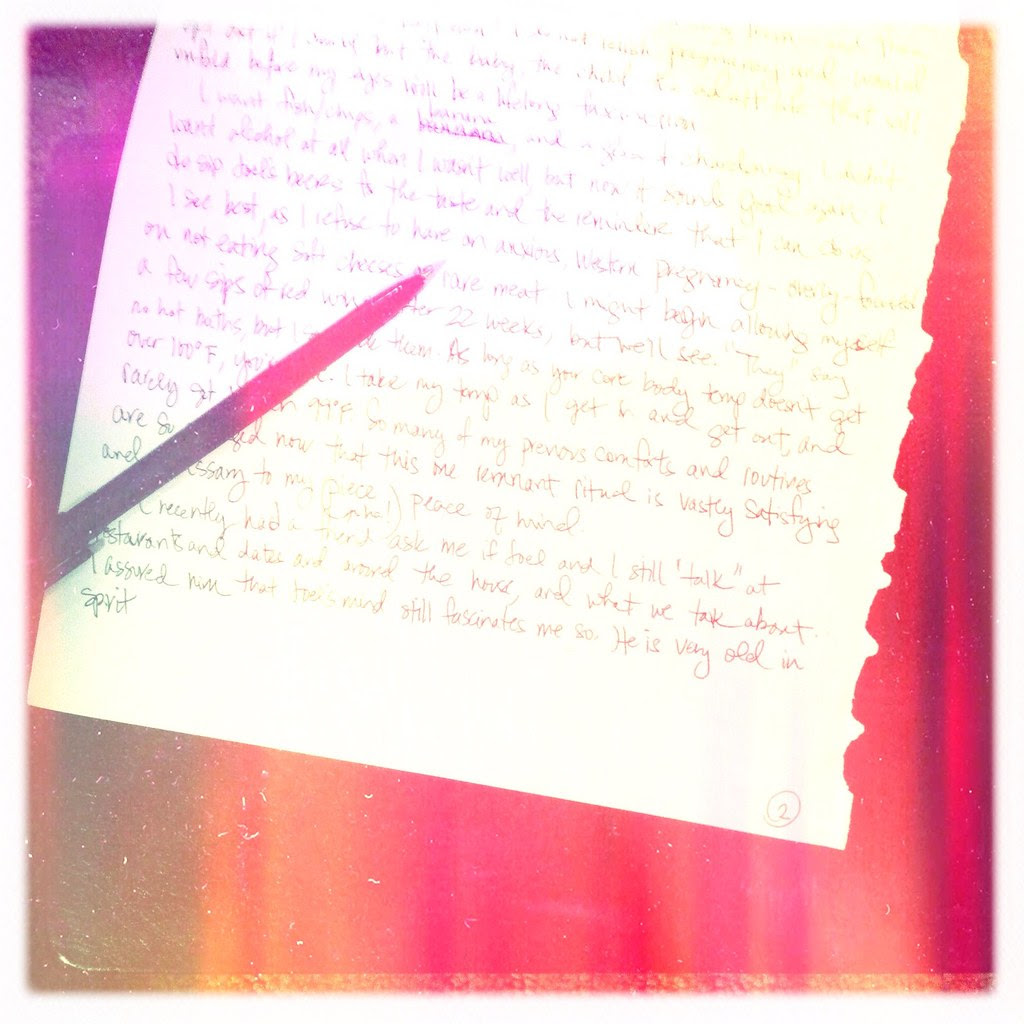 Sunday's Letters 1.29.12