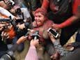Bolivia: Protesters cut off mayor's hair, cover her in red paint and drag her through the streets