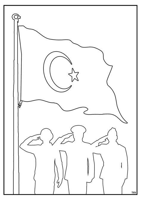 bayrak resmi indir boyama coloring   print