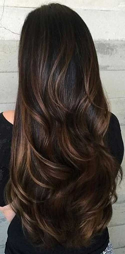 20 Glamorous Long Layered Hairstyles For Women Haircuts Hairstyles 2021