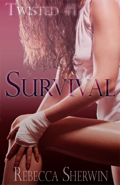 Cover photo of the erotic romance novel, Survival, by Rebecca Sherwin