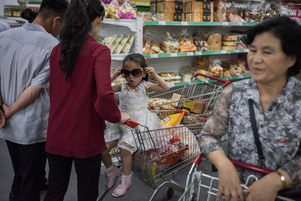 Магазин в в Пхеньяні