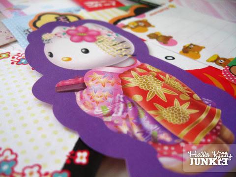 Violet Hello Kitty Kimono