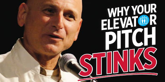 Why Your Elevator Pitch Stinks