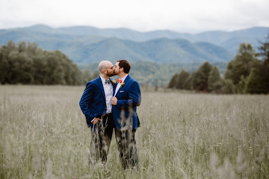 Ryan and Jason's Great Smoky Mountains Elopement - Love Inc. Mag