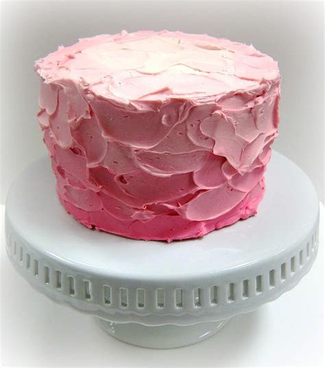Pink Ombre Spackle Cake   Scrumptions