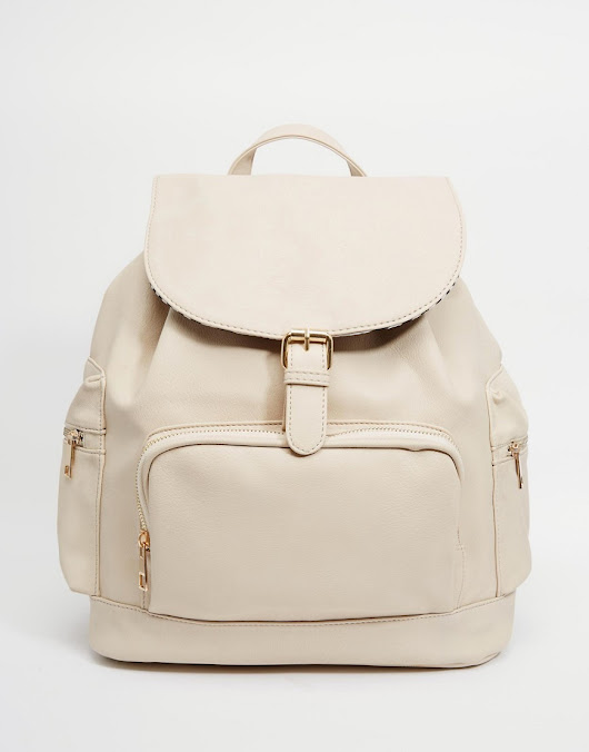 Yoki Fashion | Yoki Fashion Backpack With Pockets at ASOS