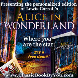 Personalized Alice in Wonderland from Classic Book By You