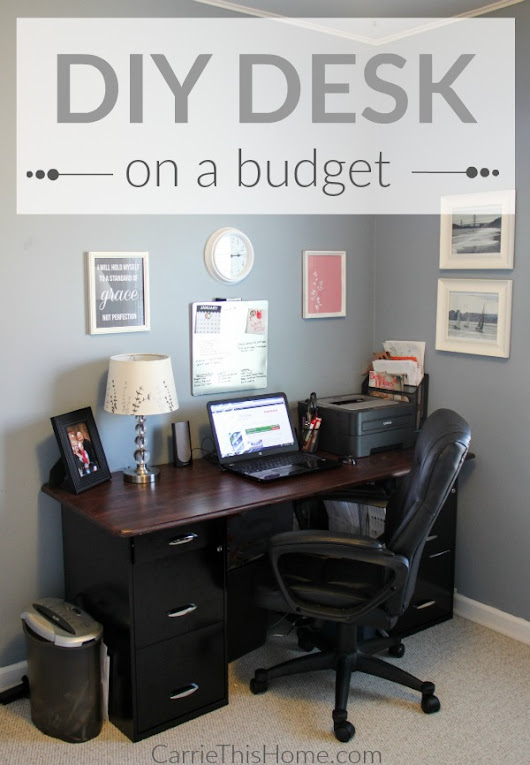 DIY Desk On A Budget