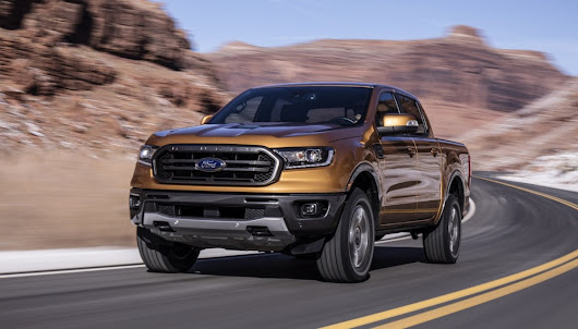 2019 Ford Ranger previewed via North American model - ForceGT.com