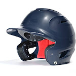 Under Armour UABH-200 Solid Fitted Batting Helmet - Navy Large