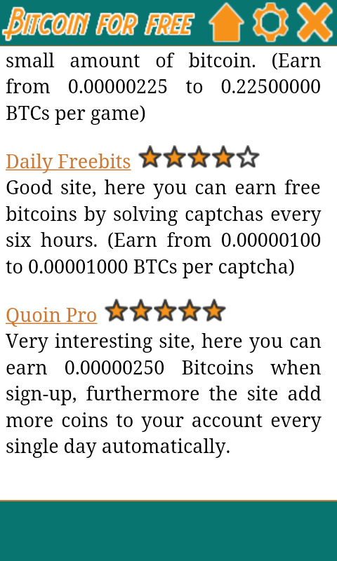How To Earn Free Bitcoins On Android Forex Trading -