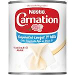 Nestle Carnation Low Fat 2% Evaporated Milk - 12oz