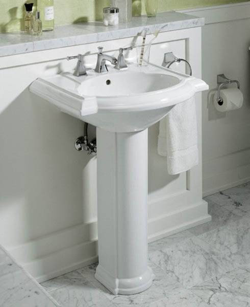 Devonshire Pedestal Sink - traditional - bathroom sinks - - by ...