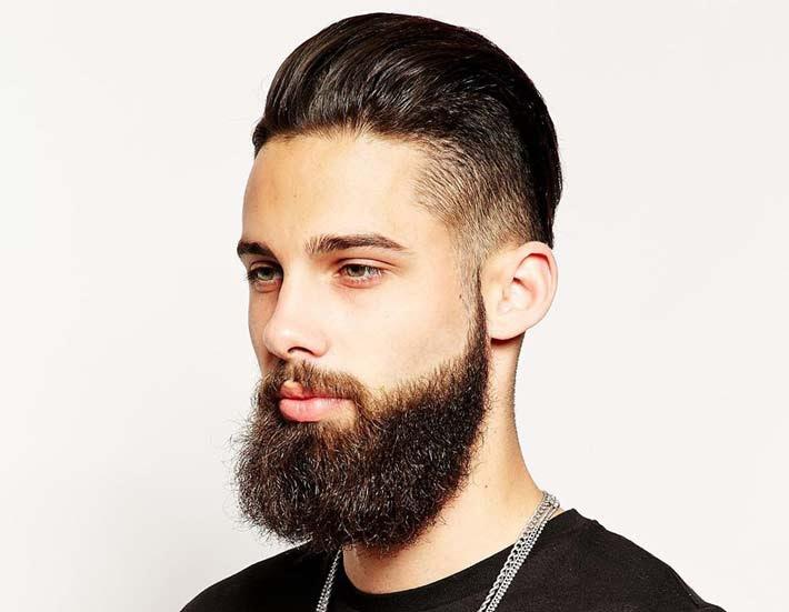 Capelli uomo anni 60 rasati a zero ai lati e ondulati sopra Con colore  - capelli uomo corti ai lati e lunghi sopra