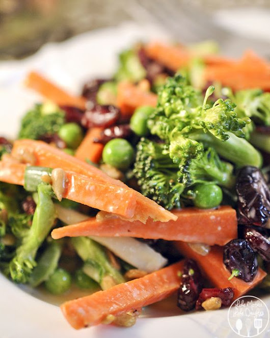 Carrot Broccoli Crunch Salad | Recipe | Crunches, Carrots and Salad
