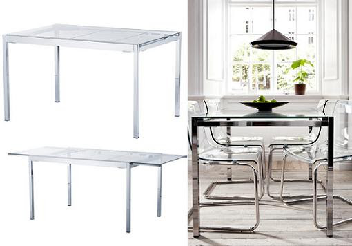 Dormitorio Muebles modernos: Mesas de comedor ikea