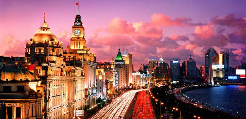 Resultado de imagem para bund em shanghai