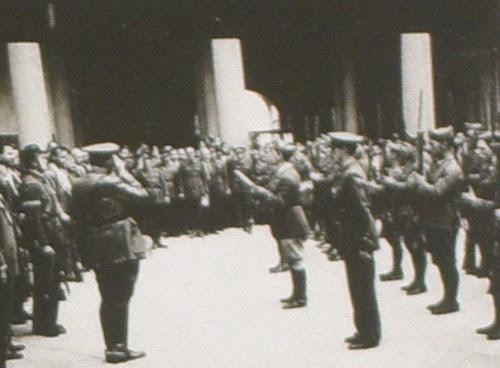 Declaración del estado de Guerra en Toledo, 21 de Julio de 1936. Fotografía Rodríguez