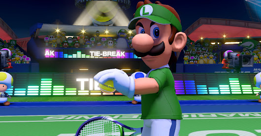Mario Tennis Aces could be a glimpse at Nintendo doing online play right