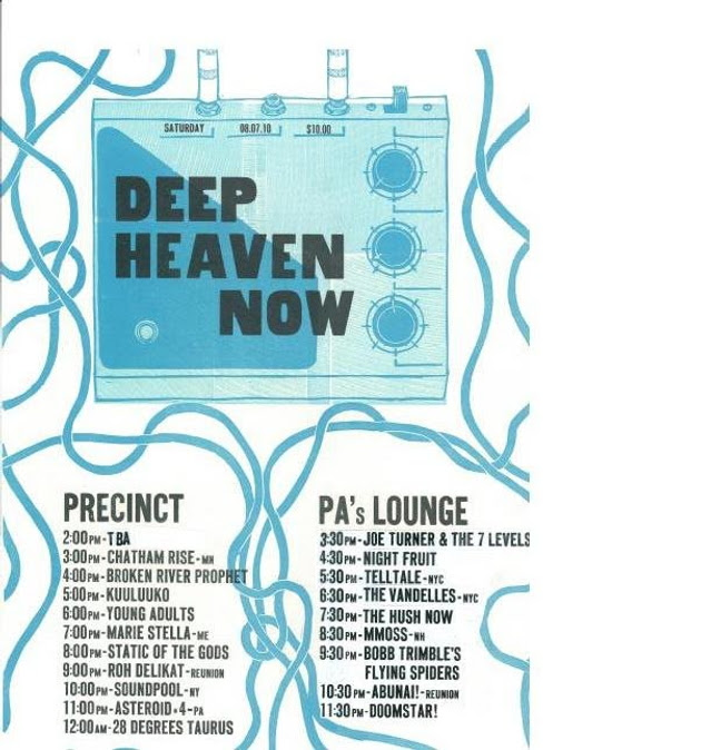 Deep Heaven Now festival, Somerville, Mass., Aug. 7, 2010