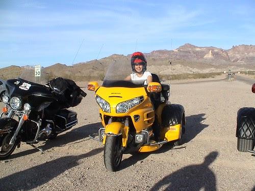 Ruta 66 En Harley Davidson Route66 California Arizona