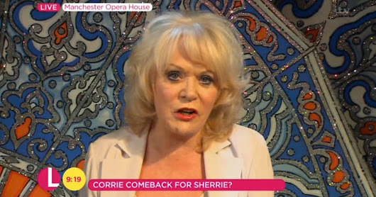 Is Sherrie Hewson returning to Coronation Street to 'have an affair with Peter Barlow'?
