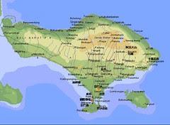 峇里島地圖