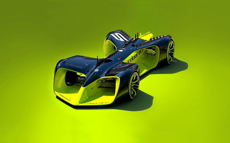 Roborace Driverless Electric Car Wallpapers | HD ...
