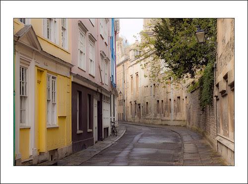 straatje in oxford by hans van egdom