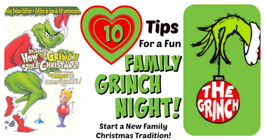 Grinch Night! A Fun Family Christmas Tradition! | Letters from Santa Blog