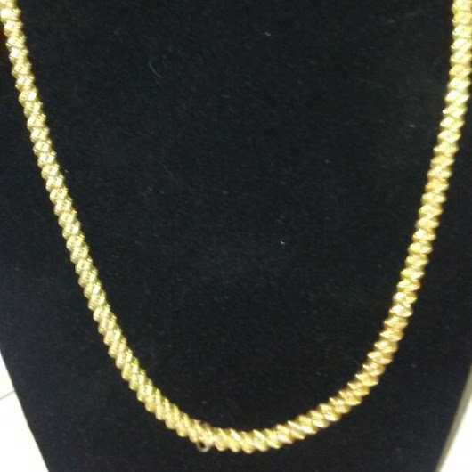 14k gols plated chain new 18 inches($ 25) - Mercari: Anyone can buy & sell