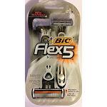 Bic Flex 5 Men's Shaver Size 2pk Bic Flex 5 Men's Shaver 2pk