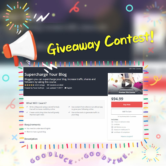Exclusive Blogging Course Giveaway Contest [Week #24]! — Steemit