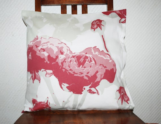 Rose Decorative Pillow Cover Throw pillow cover couch by leonorafi
