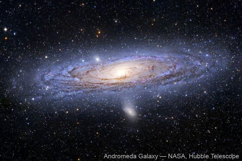Galaxia de Andrómeda, por el Hubble Space Telescope
