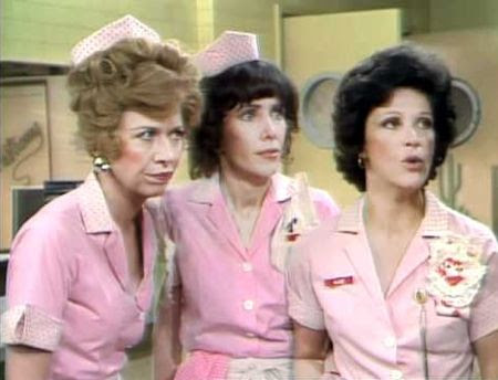 Alice - Polly Holliday, Beth Howland and Linda Lavin