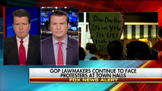 Hegseth: Protests at GOP Town Halls 'Expose the Left for Who They Are'