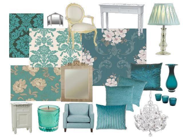 brown and teal bedroom decor ideas | Ocean Breeze Decor Ideas | Pinte…