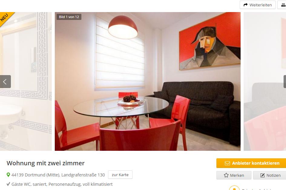 wohnungsbetrugblogspotcom Wohnung mit zwei zimmer 44139