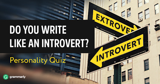"""Do You Write Like an Introvert?"" Quiz"
