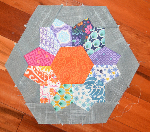 Modern Baby Quilt block for Marci - Always Bee Learning