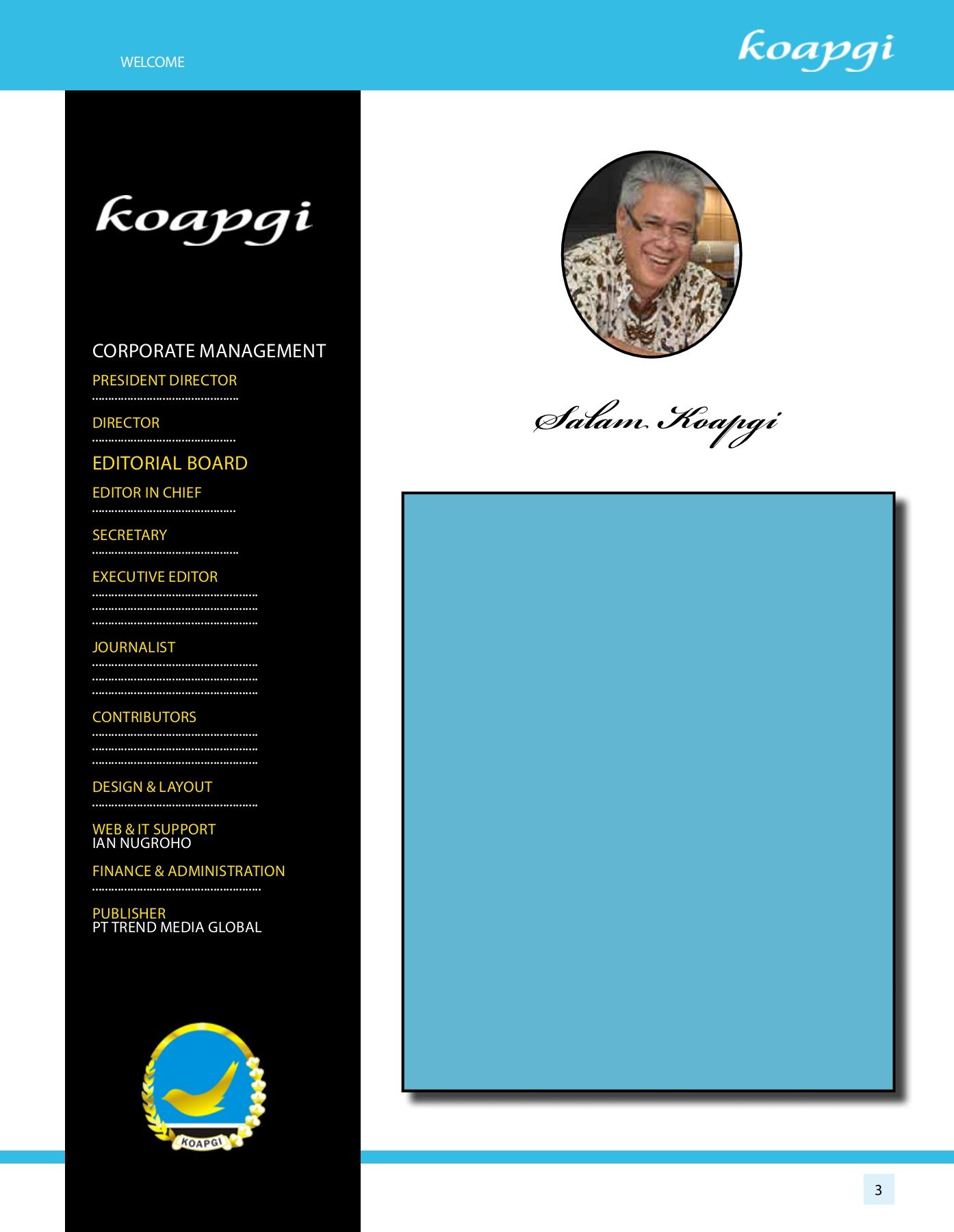 KOAPGI MAGAZINE EDISI 001 Pages 1 26 Text Version FlipHTML5