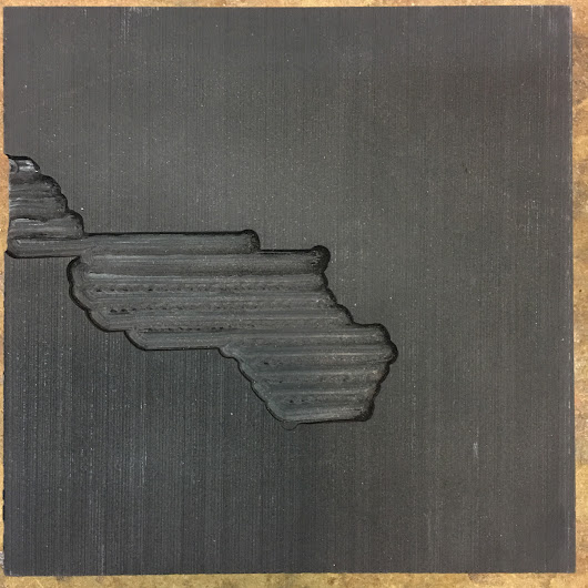 CNC Carving Glitch Art