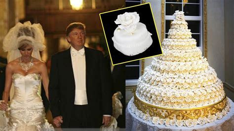 Melania Trump And Donald's Souvenir Wedding Cakes Is Being