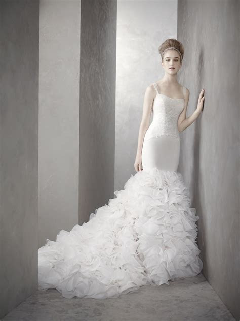 White by Vera Wang wedding dress style inspired by Kim