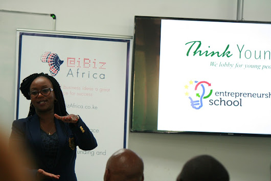 Joanne Mwangi engages Youth at the Entrepreneurship School
